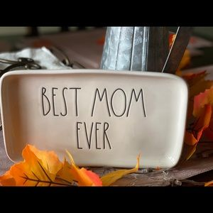 Rae Dunn Best Mom Ever Tray